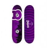 Patère skateboard murale - crazycat- porte manteaux skate art