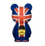 Sculpture crazy buddy - smiley world london - objet de décoration fun