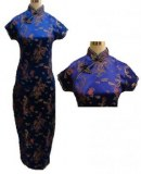 Lots de 24 robes chinoises pour femme à motifs  DRAGONS