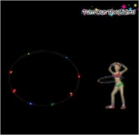 Led Hula Hoop Clignotant avec ou sans le son LED