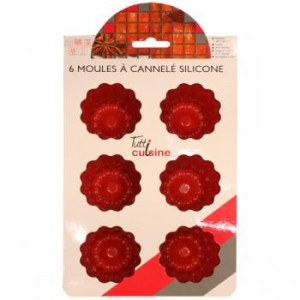 Moules silicone Cannelés / Madelaine / Cupcake 1.95 HT
