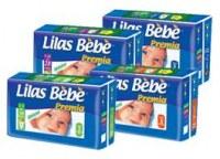 Couche Bébé Lilas Premia
