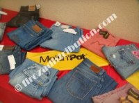 Lots de jeans Calvin Klein, Replay, Meltin Pot