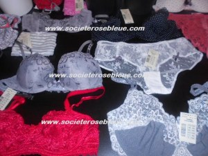 PROMOTION SUR LOT DE LINGERIE ETAM