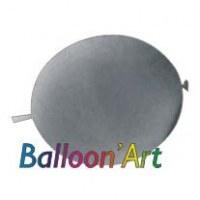 NOUVEAU 50 ballons Argent 30 cm nacrés pour guirlande