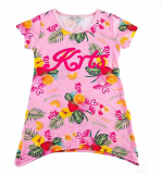 T-shirt long fruité fashions