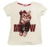 T shirt motif chat