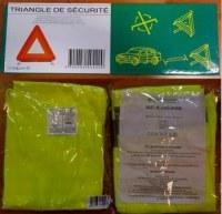 TRIANGLE GILETS DE SECURITE - LOT