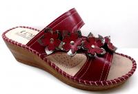 Sandale fleure à talon