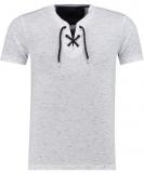 T-shirt lacet