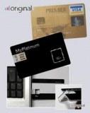 Clé USB forme carte de crédit 1go