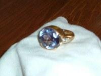 Tres belle chevaliere homme or et diamants