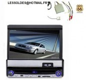 "Autoradio écran7"" DVD/TV/SD/USB GPS"