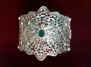 Bracelet Marocain luxueux en argent