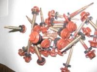 Panneaux imitation tuiles, vis avec joints,toiture