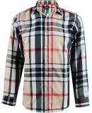 Chemise carreaux tartans coupe droite