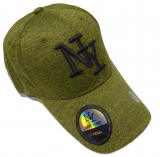 Casquette NY vert chiné