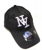 Casquette NY unie noir
