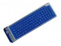 CLAVIER AZERTY SILICONE FLEXIBLE 104 TOUCHES USB 2009