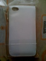 Housse simili cuir iphone 4G