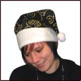 Bonnet de Noel Noir