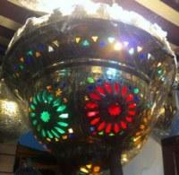 Lustre marocaine fabriquée à la main