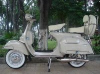Scooter vespa piaggio 125cc collection