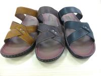 Sandale croisé homme