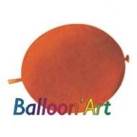 NOUVEAU 50 ballons Orange 30 cm nacrés pour guirlande
