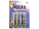 Grossiste piles ARCAS AA BLISTER 4