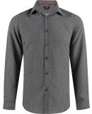 Chemise noir à motif
