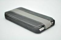 Idée cadeau de fin d'année, coque Iphone 4 et 4S avec logo de votre entreprise sur mesure en cuir