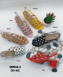 Sandale à perle grande taille