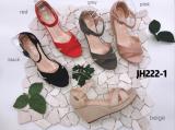 Sandale compensé ouvert