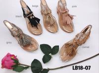 Sandale fantaisie à frange