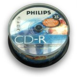 Vends CD-R 90 Philips x25