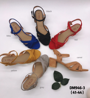 Sandale ouverte grande taille
