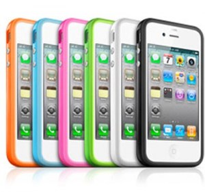 Plastic cover bumper pour iPhone 4/4s - 5/5s/5c