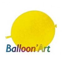 NOUVEAU 50 ballons Jaune 30 cm nacrés pour guirlande
