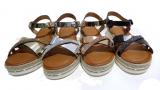 Sandale semelle compense tendance