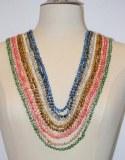 Collier sautoir 120cm perles baroques