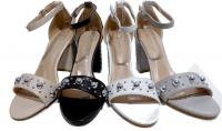 Sandale à talon ouvert