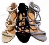Sandale à talon Lisa