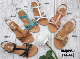Sandale ouverte tendance grande taille