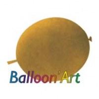 NOUVEAU 50 ballons Dorés 30 cm nacrés pour guirlande