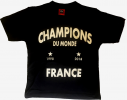 Tshirt Champion du monde 1998-2018