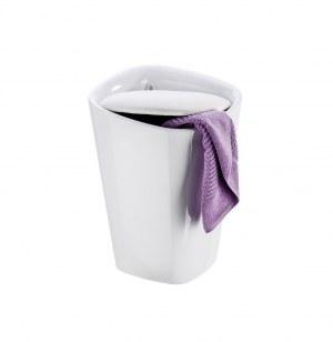 Tabouret de douche candy - salle de bain - blanc