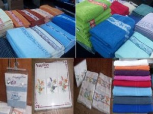 Serviettes 100% cotton
