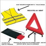Kit de sécurité auto qualité supérieure