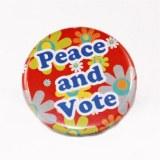 Election présidentielle : Badges ludiques et humoristiques